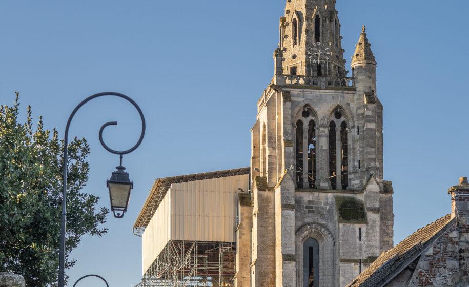 Collégiale Saint-Thomas : restauration de la tour-clocher
