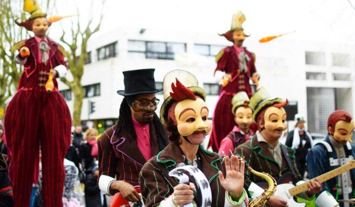 Défilé du Carnavalois