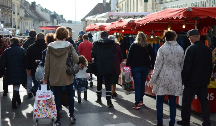 Foire de Crépy - rue Nationale